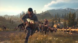 Escaping the horde in Days Gone
