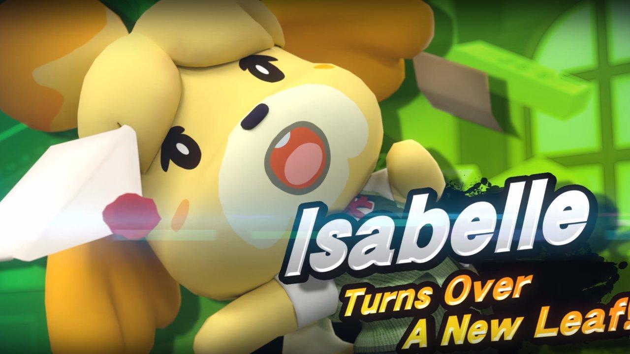 Isabelle-Smash-Fighter