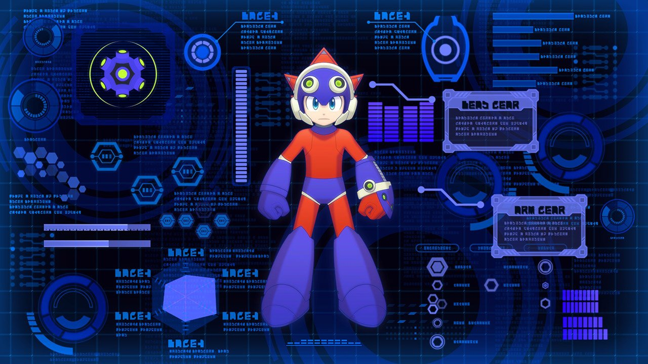 Mega Man 11 Robot Suit