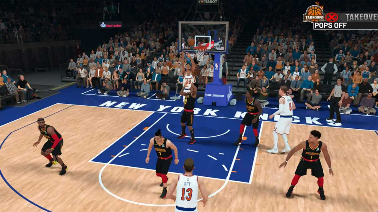 NBA 2K19 How to Alley Oop - At...