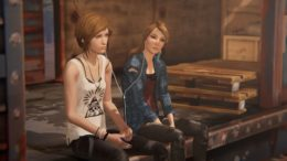 Life is Strange Before the Storm Chloe and Rachel on train