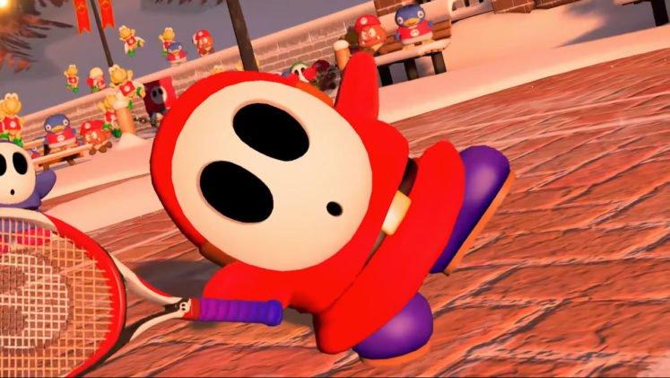 Mario Tennis Aces Shy Guy