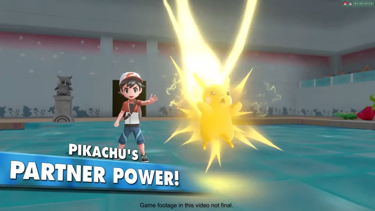 New Pokémon: Let's Go! Video Introduces Exclusive Moves