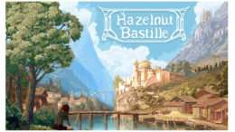 Hazlenut Bastille title screen