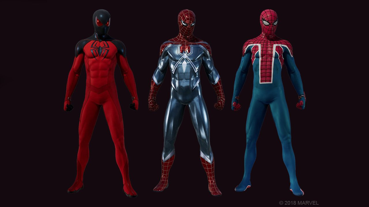 Marvels-Spider-Man-Three-Heist-Suits