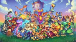 Spyro Reignited Trilogy - Character Mural
