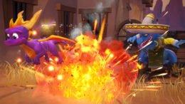 Spyro Reignited Trilogy - Dino Mines Explosion