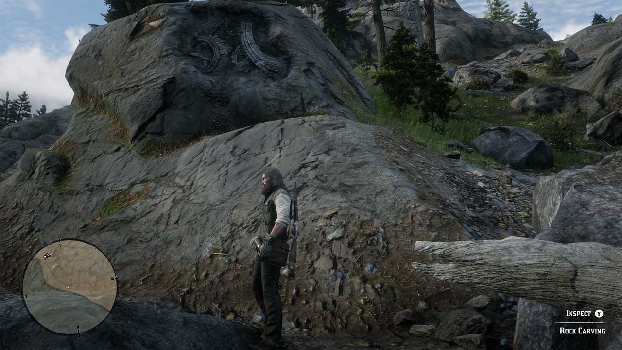 Red Dead Redemption 2 All Rock Carving Locations - Attack of the Fanboy