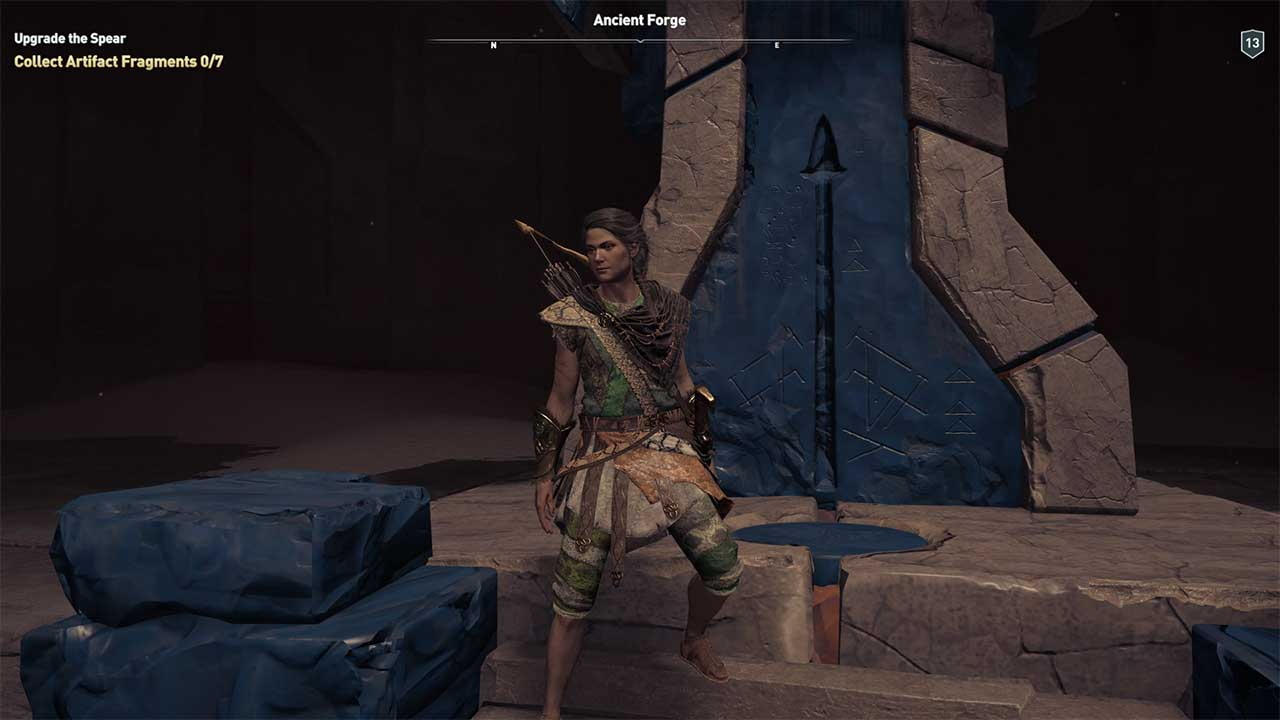 Assassin S Creed Odyssey How To Upgrade Spear Of Leonidas Attack