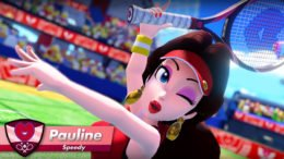 Mario Tennis Aces - Pauline