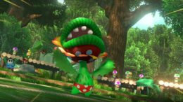 Mario Tennis Aces - Petey Piranha
