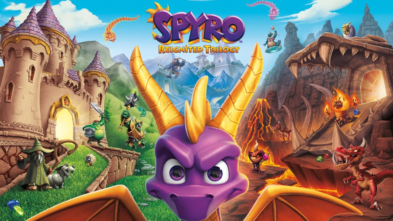 Spyro Reignited Trilogy - Splash Screen