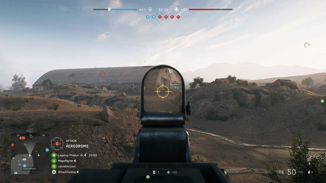 Battlefield V How to Aim Down Sights With MMG - Attack of the Fanboy