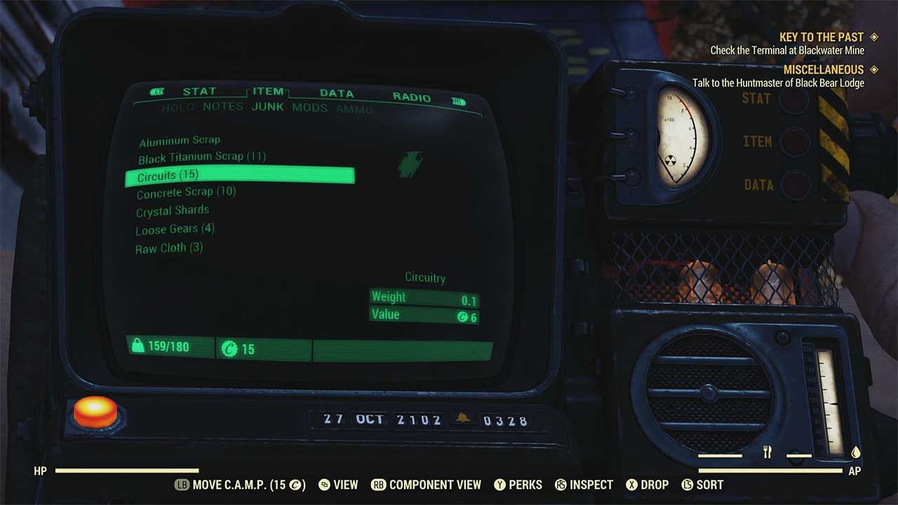 Fallout 76: How to Get Circuitry - Attack of the Fanboy