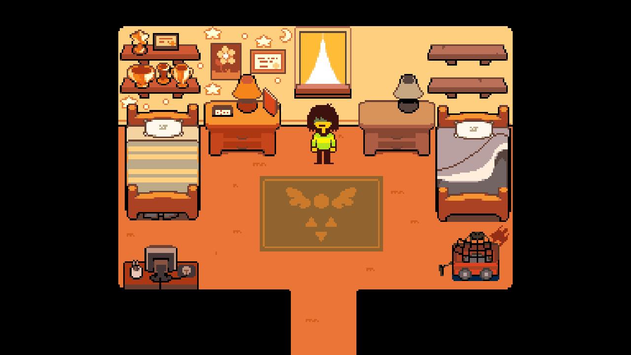 deltarune-room