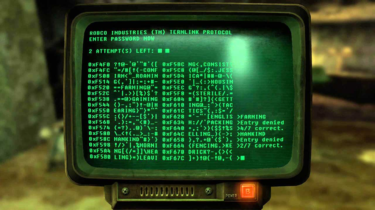 Fallout 76: How to Hack Terminal Computers - Attack of the