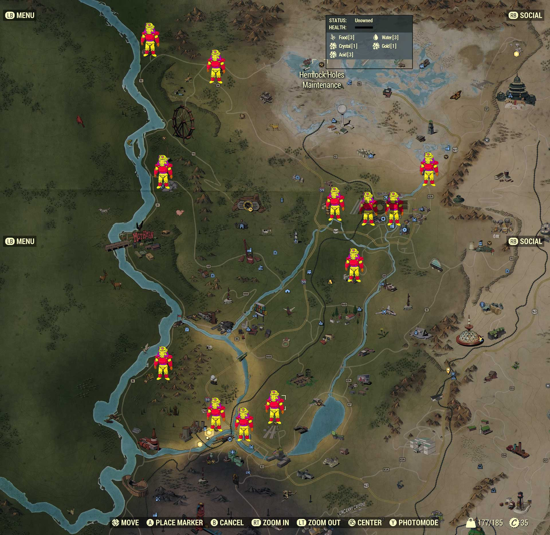 Fallout 76 All Power Armor Locations - Attack of the Fanboy