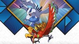 Pokémon Lugia and Ho-Oh event