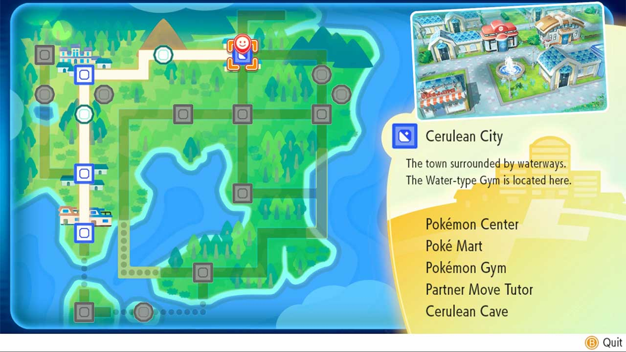 Mapa De Pokemon Let S Go Pikachu.How To Fast Travel In Pokemon Let S Go Attack Of The Fanboy