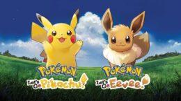 Pokémon Let's Go Pikachu versus Eevee