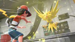 Pokémon Let's Go Zapdos