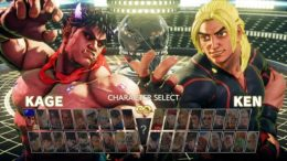 Street Fighter 5 Kage
