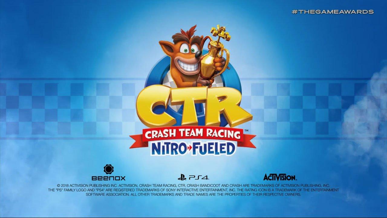 Crash Team Racing Nitro-Fueled reveal