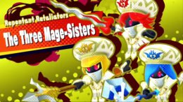 Kirby Star Allies Mage-Sisters battle