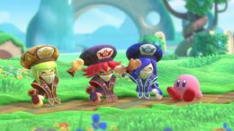 Kirby Star Allies Mage-Sisters friends