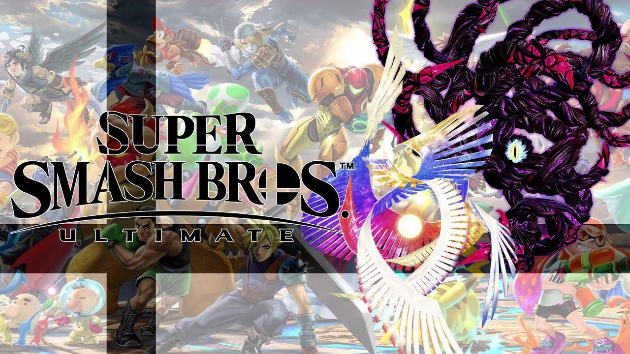 Super Smash Bros. Ultimate Galeem and Dharkon