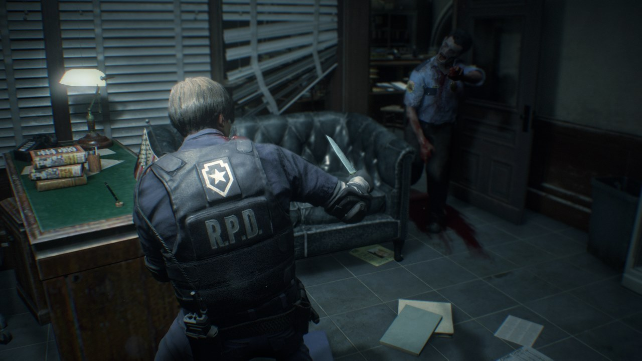 Resident-Evil-2-Remake-How-to-use-your-knife