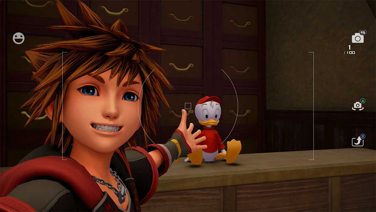 Kingdom Hearts 3 How to Take Pictures - Attack of the Fanboy