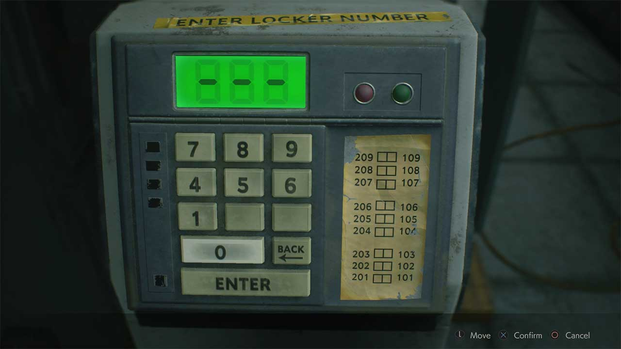 Resident Evil 2 How to Open All Lockers in Safety Deposit