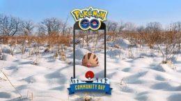 Pokémon Go Swinub Community Day