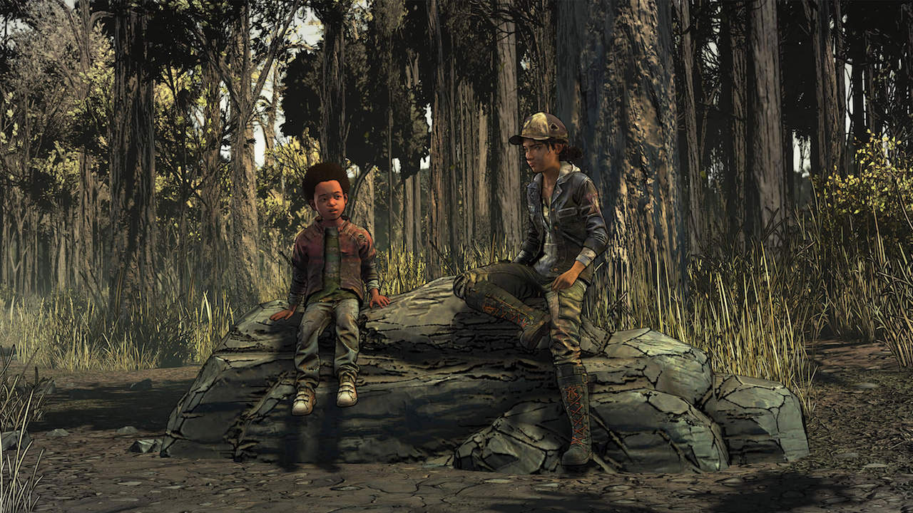 The Walking Dead The Final Season episode 3 Clem and AJ