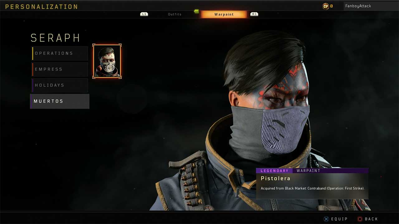 Black Ops 4 How to Change Face Paint, Skins and Outfits