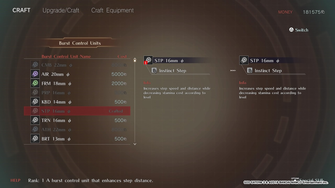 God Eater 3 Guide: How To Unlock Burst Control Units - Attack of the