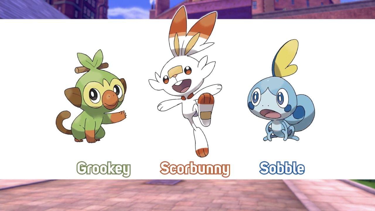 Pokemon-Sword-and-Shield-Gen-8-Starters