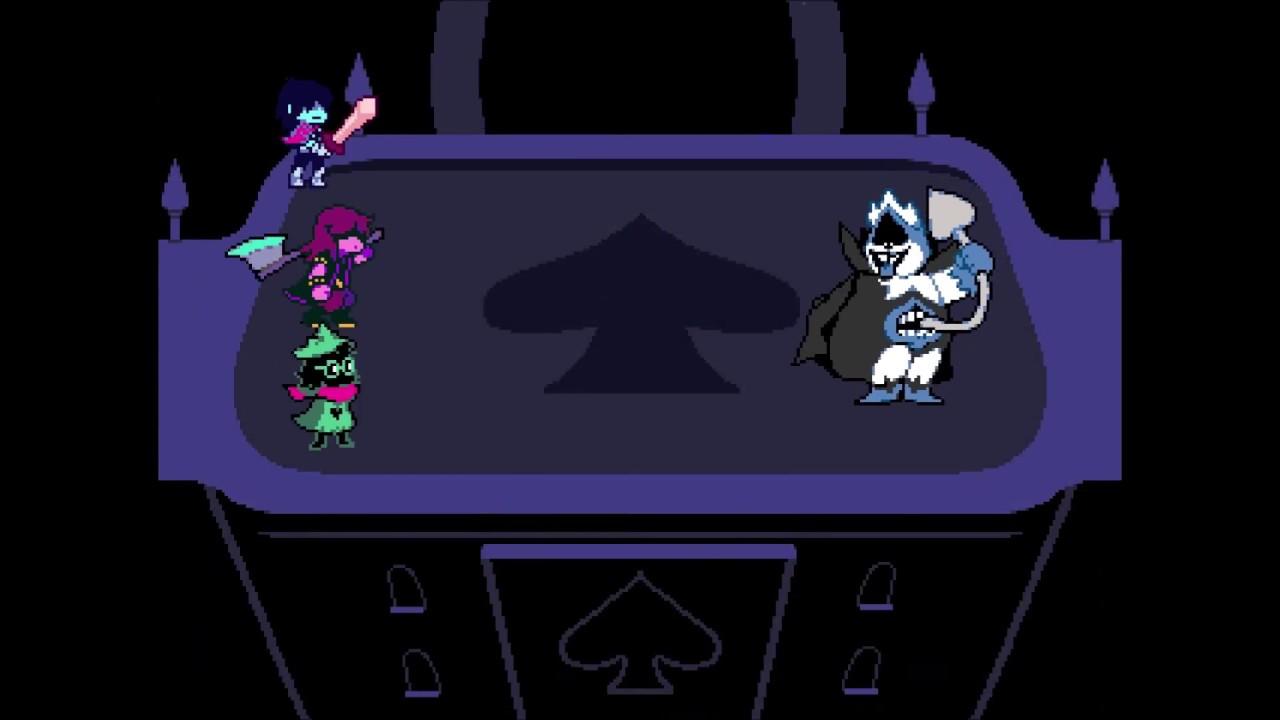 deltarune-king-fight