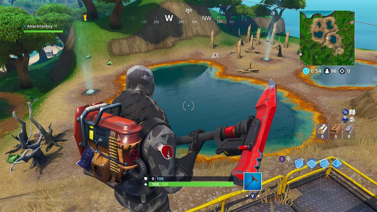 Fortnite Season 8 Map Changes Attack Of The Fanboy