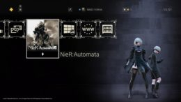 Nier Automata Game of the Yorha Edition PlayStation 4 theme