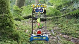 Pokémon Go Treecko Community Day