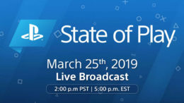 PlayStation State of Play announcement