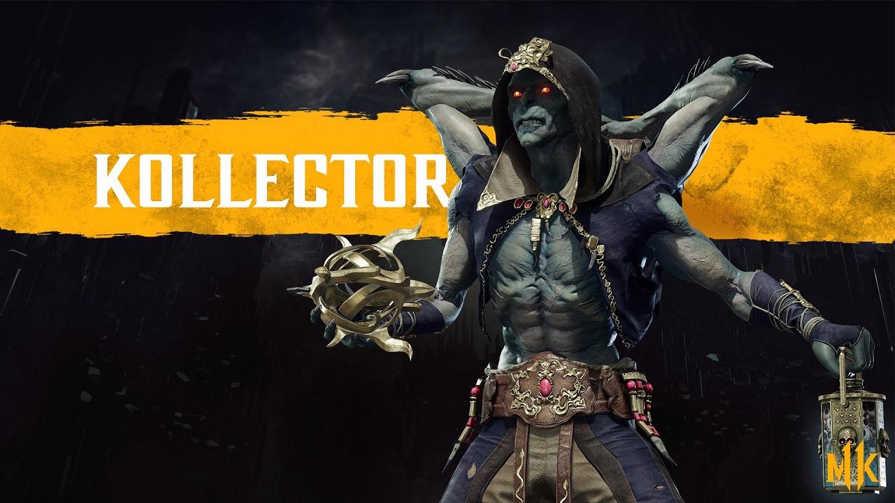 Kollector in Mortal Kombat 11