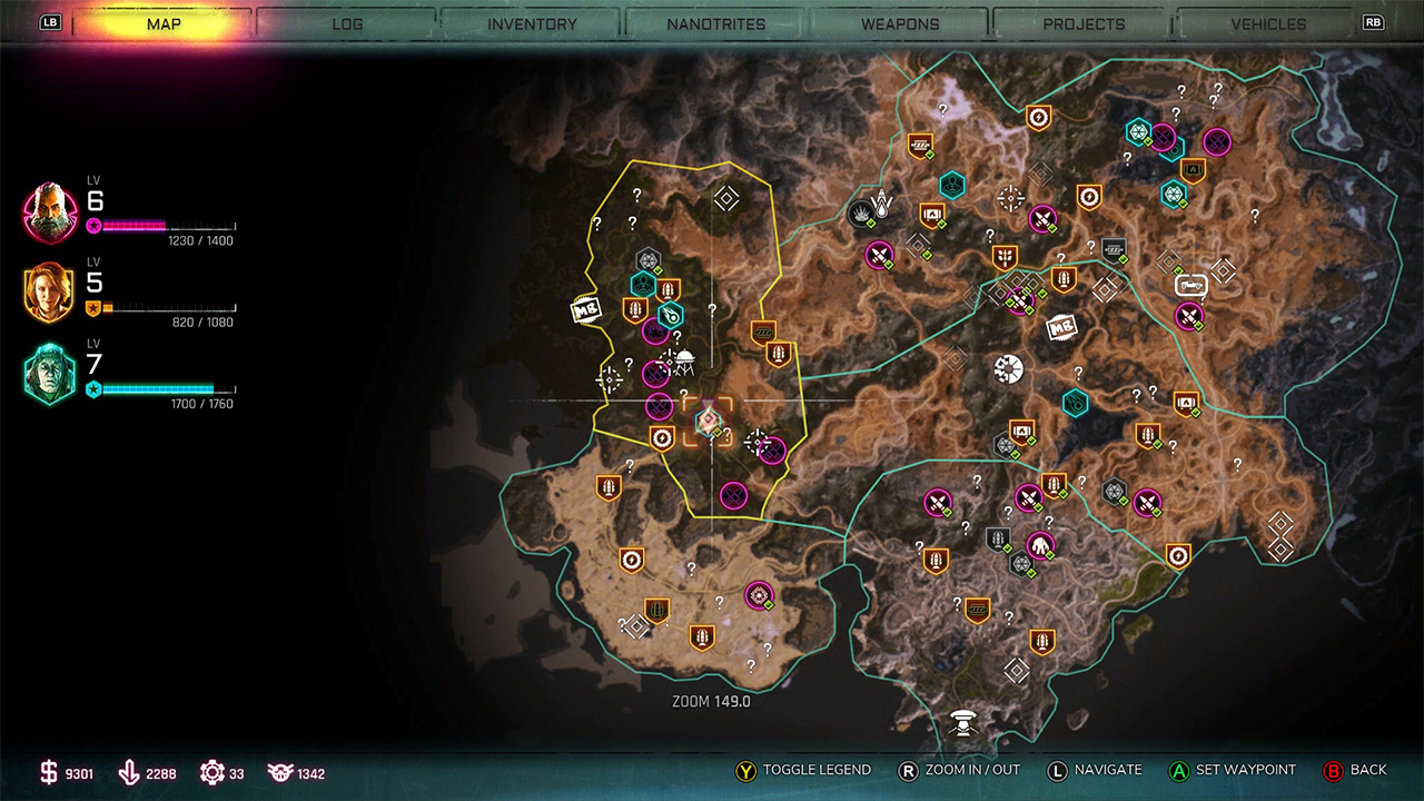 Rush-ark-location-map