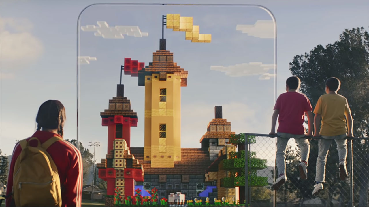 Minecraft Earth announcement