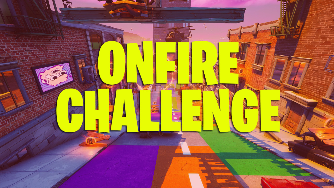 Where The Fortnite Letters Are Fortnite Search Onfire Letters Locations In Downtown Drop Attack Of The Fanboy