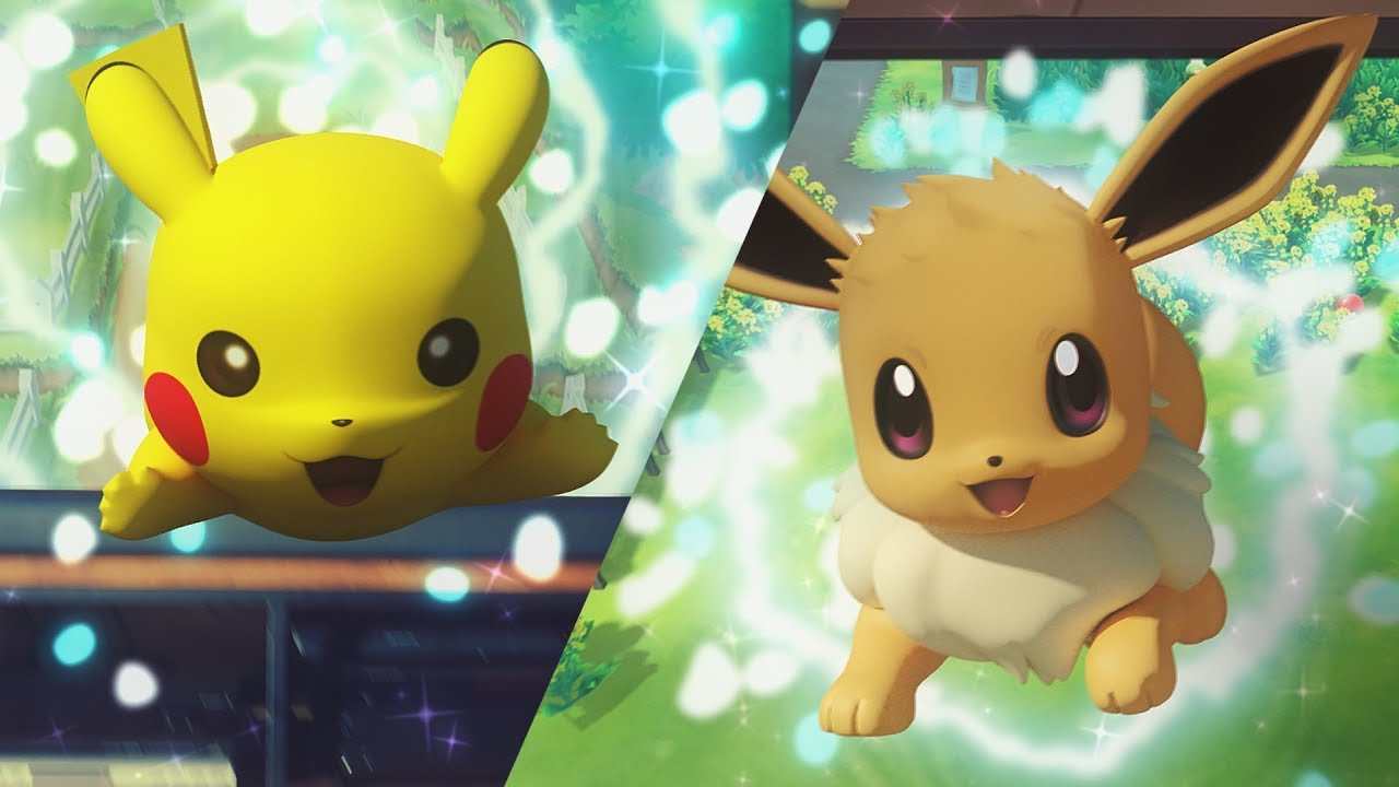 Pokémon Let's Go Shiny Pikachu and Eevee event
