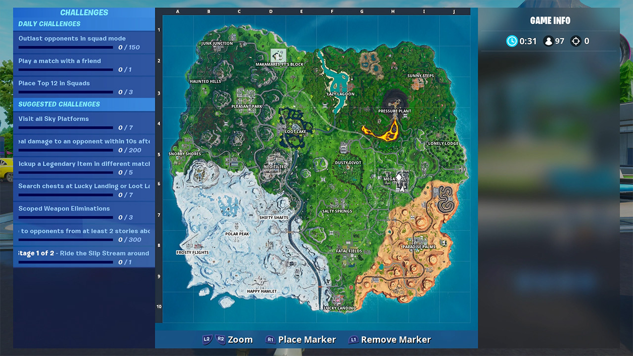 Fortnite Battle Royale Map Changes With Season 9 Attack Of