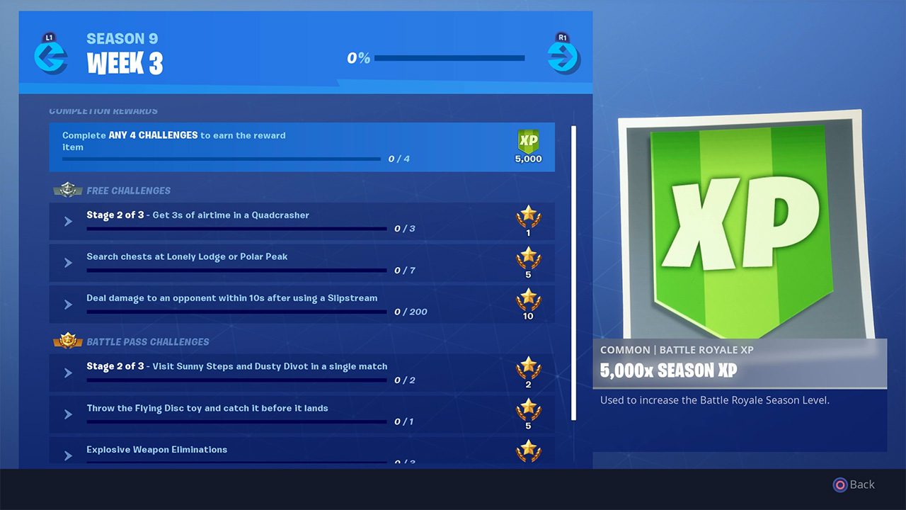 Fortnite Season 9 Leaked Wraps Found in the v9.00 Update